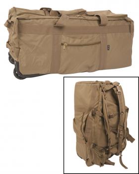 kampftrageseesack mit rollen gro reisetasche rucksack. Black Bedroom Furniture Sets. Home Design Ideas