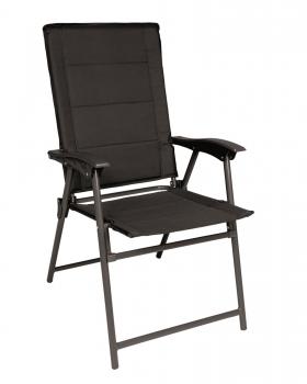 army klappstuhl mit lehne schwarz camping stuhl konkurse zerbst. Black Bedroom Furniture Sets. Home Design Ideas