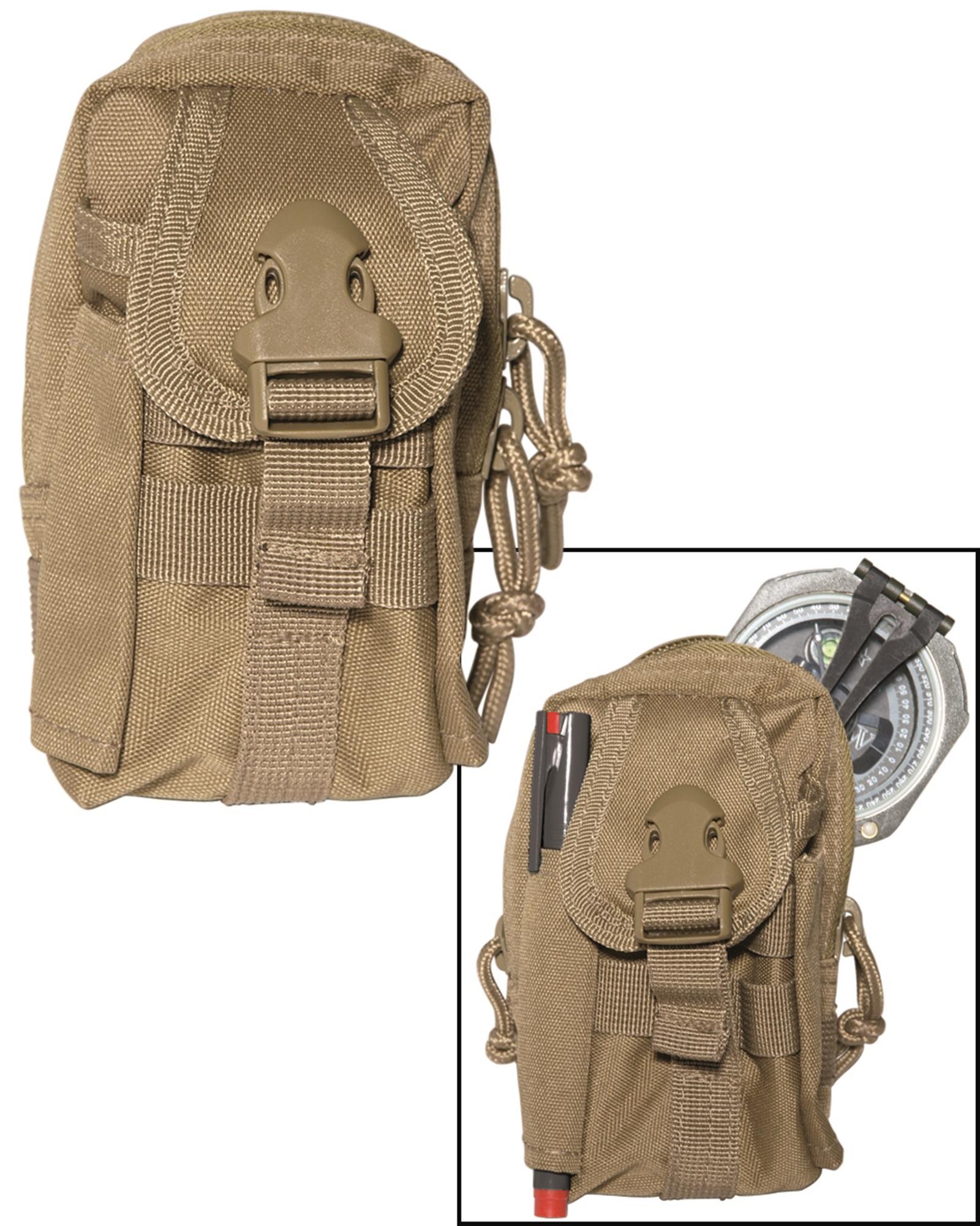 Commando Koppeltasche schwarz
