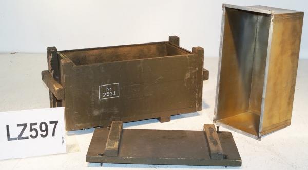 bw holzkiste 58x30x25cm transportkiste zink blumenkasten shabby chic hocker holz ebay. Black Bedroom Furniture Sets. Home Design Ideas