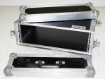 "Rock Pack Flightcase 3HE 19"" Rack Koffer Effektrack"